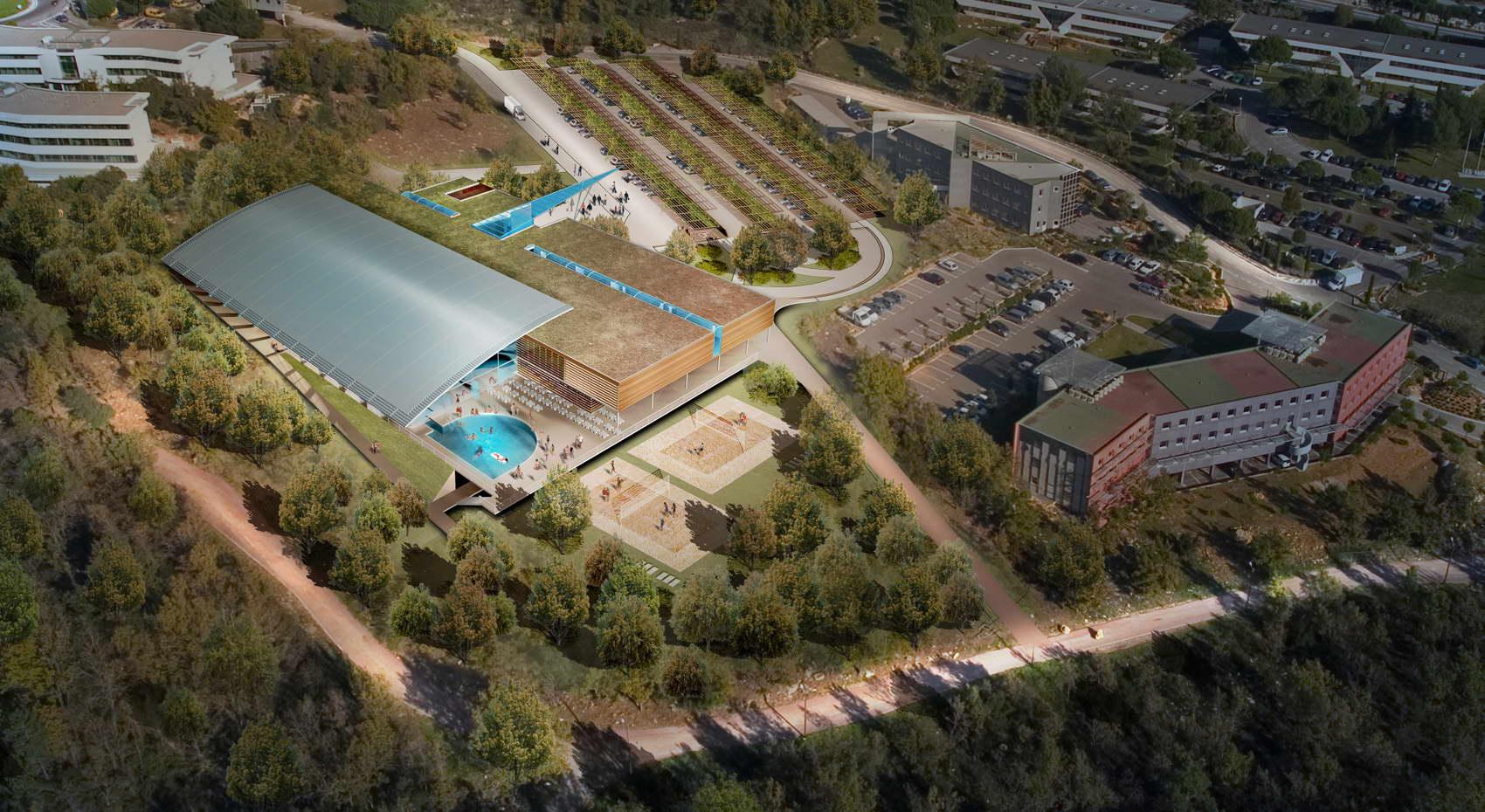 Piscine du complexe multisites - Sophia antipolis piscine ...